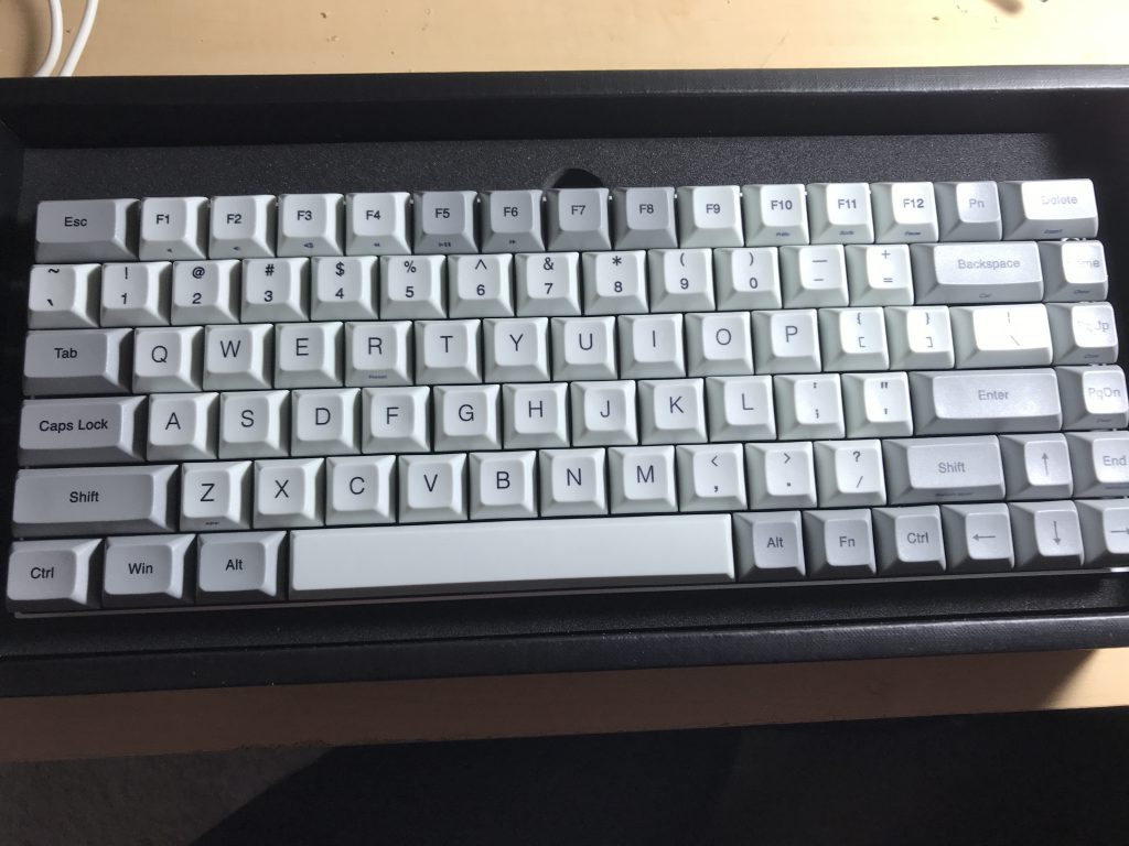 The standard keyboard in the box