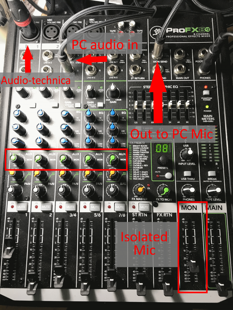 Fritz's Audio Mixer